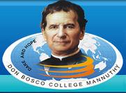Don Bosco College Mannuthy logo