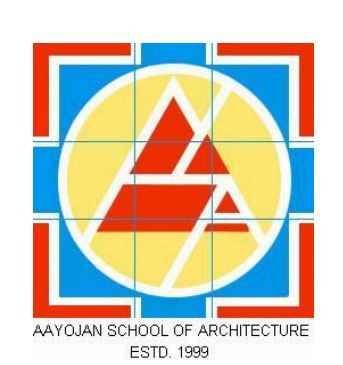 Aayojan School of Architecture logo