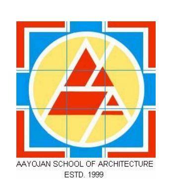 Aayojan School of Architecture logo