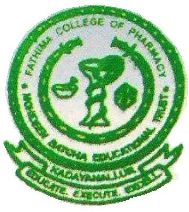 Fathima College Of Pharmacy Kadayanallur logo