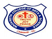 Nazareth College of Arts and Science, Avadi logo