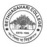 Bethuadahari College logo