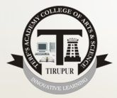 Terf 's Academy College of Arts And Science logo