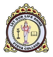 Vysya College logo