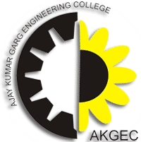 Ajay Kumar Garg Engineering College logo
