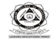 Jairam College of Education logo