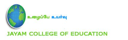 Jayam College of Education logo