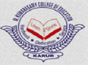 M. Kumarasamy College of Education logo