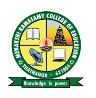 Menakshi Ramasamy College Of Education logo