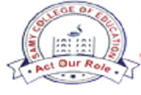 Samy College of Education logo