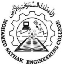 Mohamed Sathak Engineering College logo