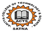 Aditya College of Technology and Science logo