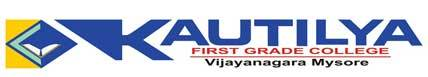 Kautilya First Grade College logo