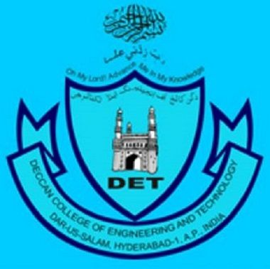 Deccan College of Engineering and Technology logo