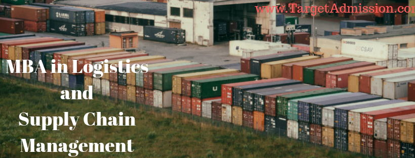 MBA in logistics and supply chain management - Careers, Salary, Jobs